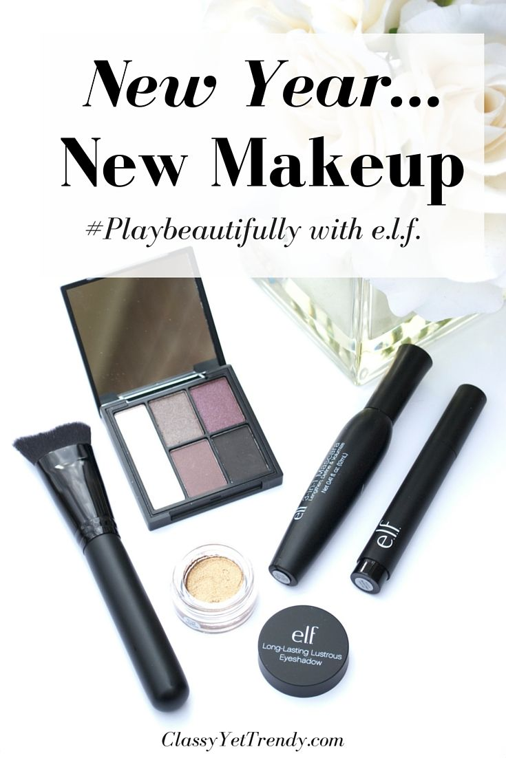 I'll #playbeautifully by wearing these e.l.f. cosmetics! Follow @elfcosmetics on Instagram and Twitter for the latest products and makeup ideas!