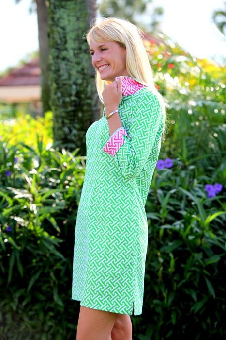 Mellym: Dresses Shops, Perfect Preppy, Bloom Dresses, Shift Dresses, Make Dresses, Prints Cuffs, The Dresses, Fun Colors, Maryland Pink