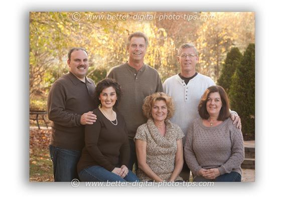 Family Portrait Ideas With Adults