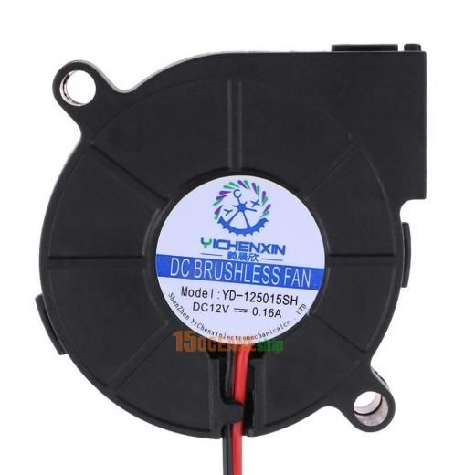 50*50*15mm Dc 12v 0.16a Cooling Turbo Fan Accessory For 3d Extruder Printer Part 1gs8bn3jr2hx8hg4