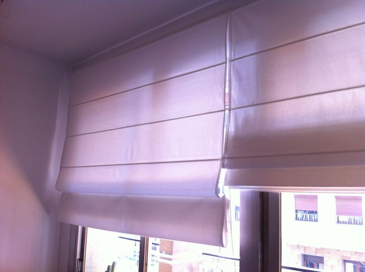 30 best images about estores o cortinas romanas on pinterest balloon shades bay window - Estores persianas ...