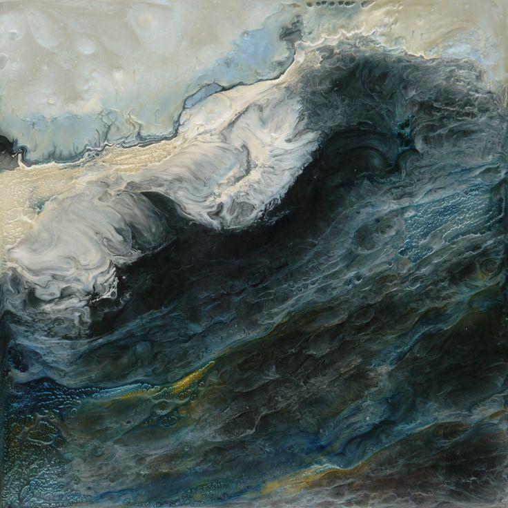 """Lia Melia; Mixed Media, 2012, Painting """"Songs of Melusina 4"""""""