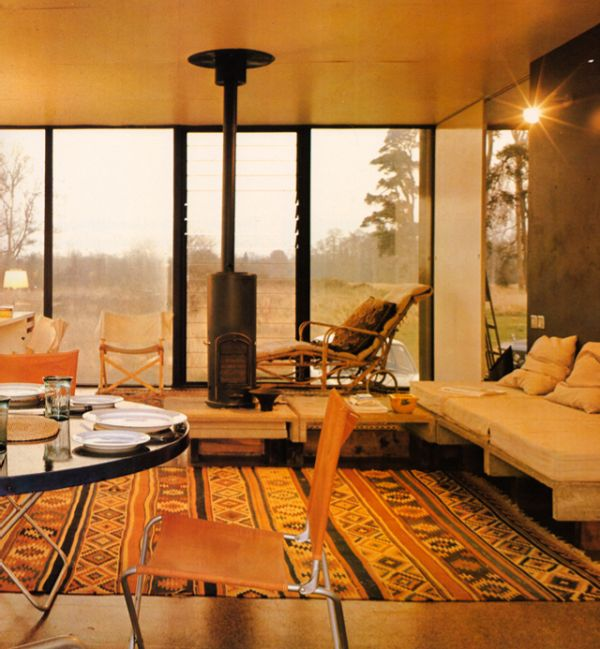 Houses Architects Live In 1970s Interior Design | Seventies | Pinterest |  Interni, Interior design