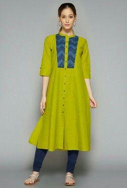 Plus fashion kurta