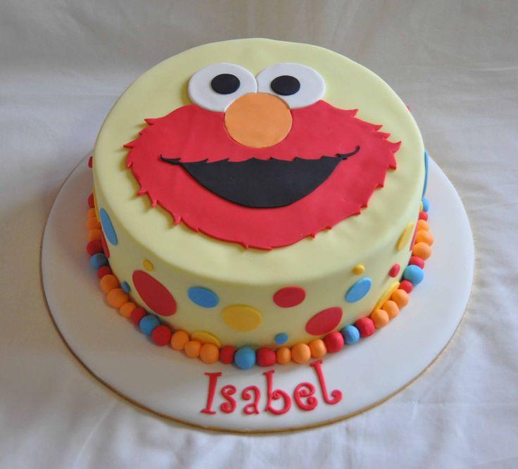 Sesame Street Cake, Elmo Party And Elmo Birthday