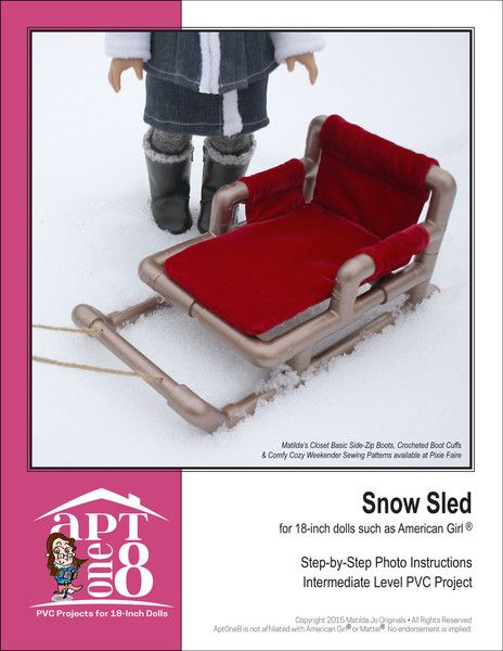 SNOW SLED PVC PATTERN