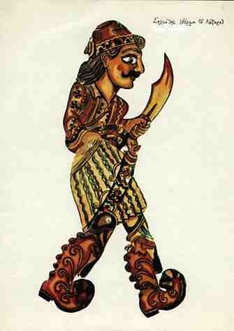 Greek Shadow-Puppet Theatre (Karaghiozis), Greek Soldier, 1920s-1950s
