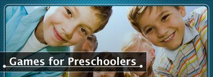 Whether at a party or a play date, preschoolers love games. #Games #FunforKids