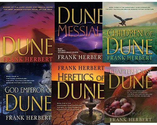 Frank herbert's Dune serie