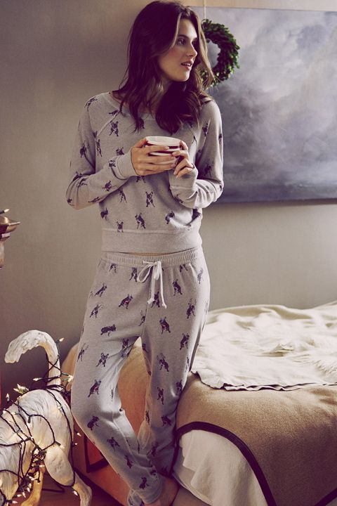 Soft & Cozy | A&F Lookbook | Abercrombie.com | Sleep Set
