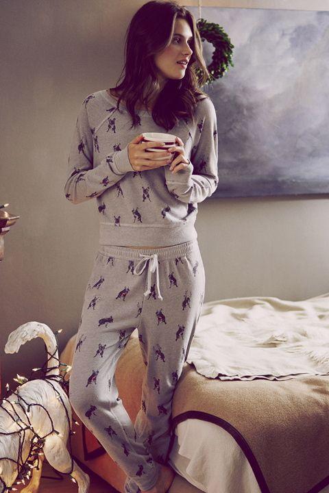 Soft & Cozy | A&F Lookbook | Abercrombie.com | Sleep Set