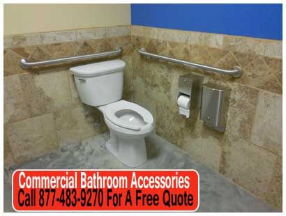 Web Image Gallery We constructed ADA pliant and standard stalls in the office restrooms and standard stalls in the shop restroom mercialbathroomaccessories u