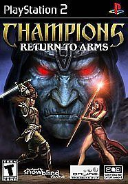 Champions Return to Arms for PlayStation 2. #playstation2 #ps2 #retrogames #gamesfoundhere