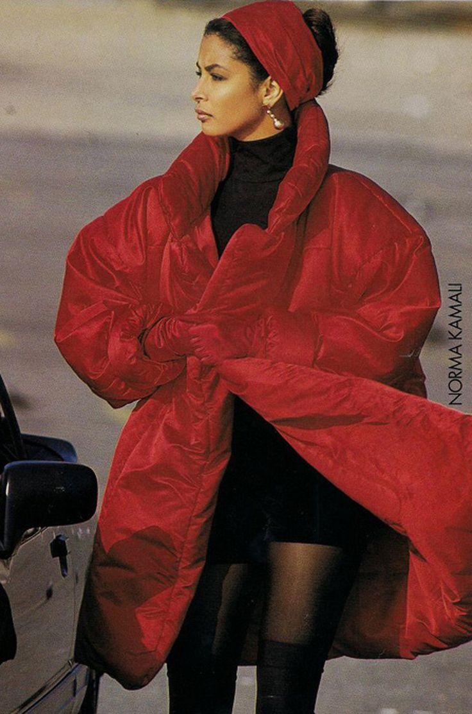 Early 1980s Norma Kamali Sleeping Bag Coat