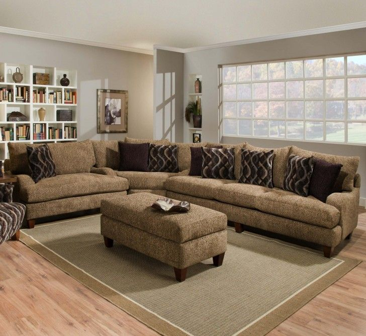 l shaped couch living room ideas.  Green Soft Carpet Under Bench Table Sofa With Brown Cushions Also Grey Wall Paint Decoration White Bookcase Chair L Shaped Couch Living Room Ideas Die besten 25 l shaped sofas Ideen auf Pinterest gelbe