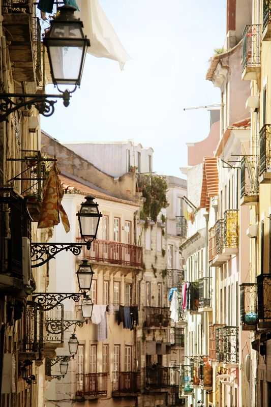 """""""spring wash day""""∞ Lisboa, Portugal, by (..Ania)"""