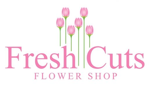 Fresh Cuts Flower Shop Logo Design Concept Idea | logonerds.com
