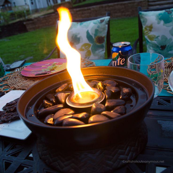 TIKI Brand Tabletop Firepiece | Tiki decor and Anonymous