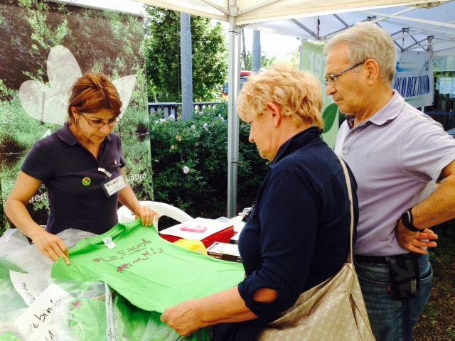 Presso il nostro Punto Parco Info puoi trovare le magliette del Parco Ticino