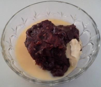 Black Forrest Self Saucing Pudding. This is a wonderful dessert for those winter evenings. It uses YIAH Chocolate Raspberry Truffle Chocolate Powder. See my Facebook page for recipe. www.facebook.com/ChristinePryorYIAH