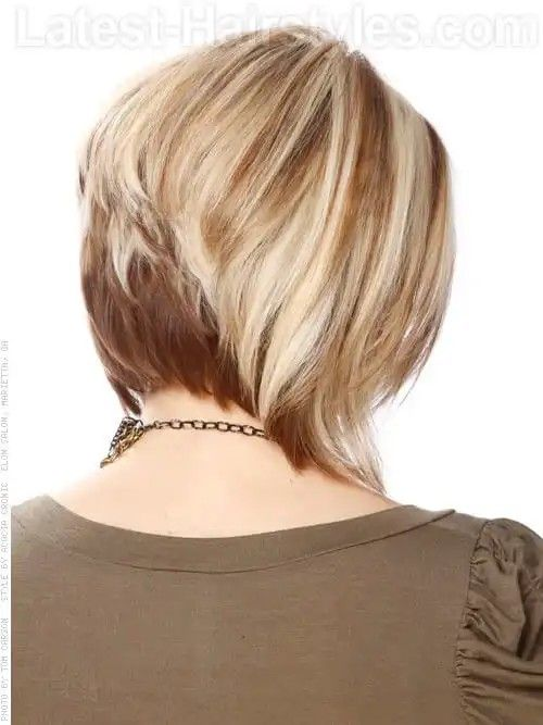 what is the best haircut for thin hair best 25 medium stacked bobs ideas on medium 6319