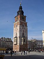 Krakow, the Town Hall Tower