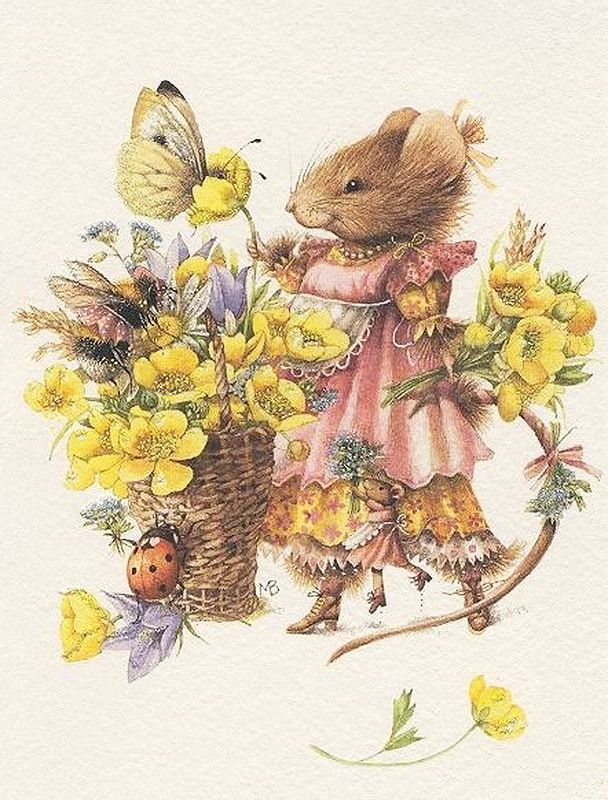 Летом я писала о моей любимой художнице Маржолейн Бастин и её чудесных картинах и иллюстрациях. А сейчас я хочу познакомить вас с одной милой малышкой, её зовут мышка Вера. Маржолейн написала о ней несколько книг. Художница придумала Веру в 1985 году. И в первой книге рассказывалось о том, как Вера управляется на кухне и угощает друзей. В книге были простые и всеми любимые рецепты, а…
