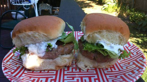 Buffalo turkey sliders burger recipes pinterest blue for Blue cheese burger recipe rachael ray