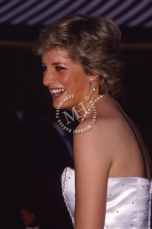 Princess Diana 1987 James Bond film London