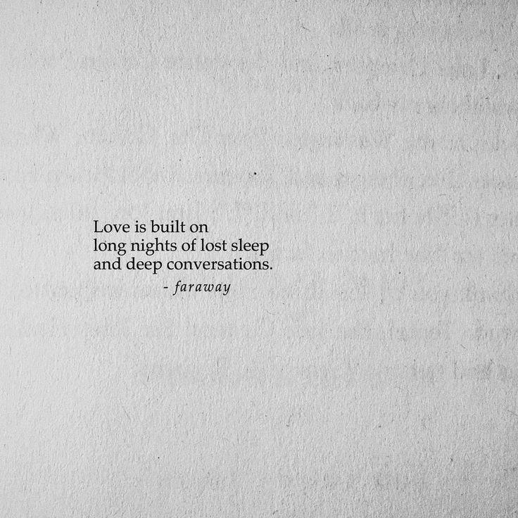 """faraway (@farawaypoetry) on Instagram: """"So much lost sleep. Follow @farawaypoetry for more daily, original poetry!"""""""