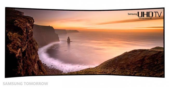 ¡Actualidad! ¿Qué te parece la TV curvo de 105 pulgadas que promete Samsung? #TV #Samsung #televisores