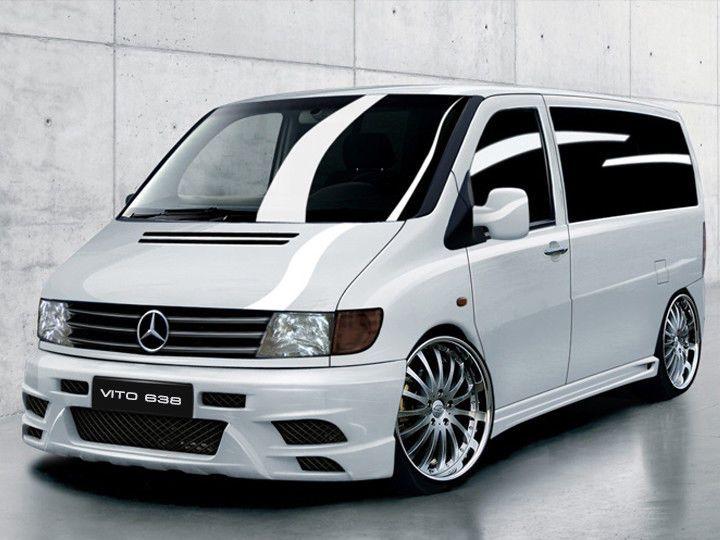 Mercedes Vito 638 FRONTSTANGE HECK STOßSTANGE SEITENSCHWELLER  AMG LOOK BODYKIT