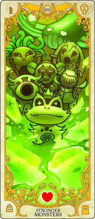 Stronger Monster's Card (hope your ready)