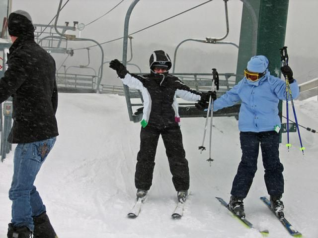 December Fun and Games in Metro Detroit: Downhill Skiing