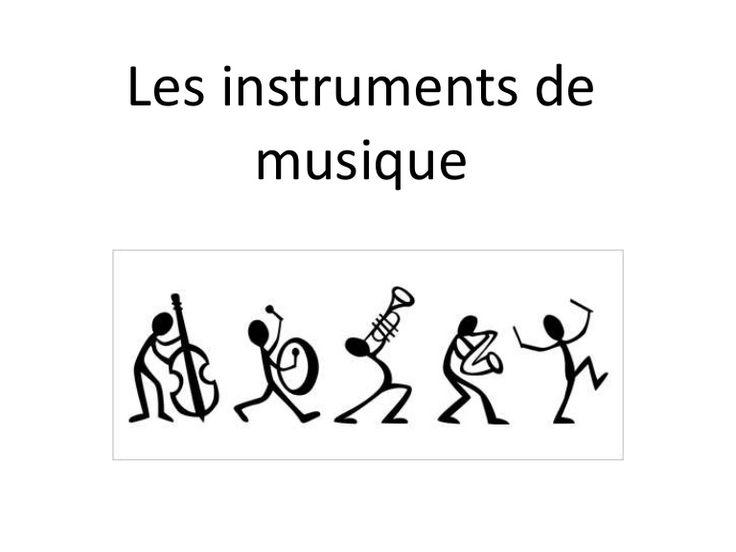 Les instruments de musique                                                                                                                                                                                 Plus