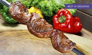 Groupon - Brazilian Dinner or Lunch Buffet for Two or Four at Rio Brazilian Steakhouse (Up to 52% Off) in St. John's. Groupon deal price: C$32