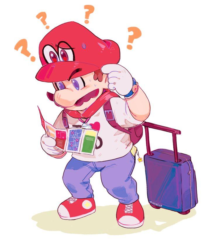 Tourist Mario   Super Mario Odyssey   Know Your Meme