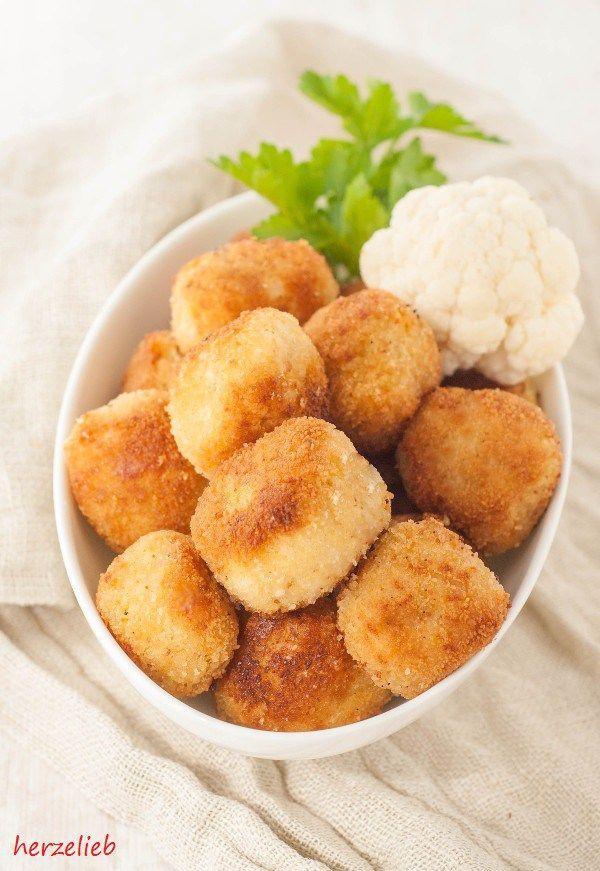 Blumenkohl-Nuggets - Fingerfood selbermachen
