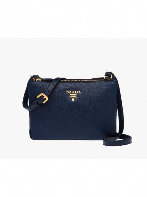 e59273532ab5 Prada Leather Crossbody Bag BALTIC BLUE #Pradahandbags | Prada ...