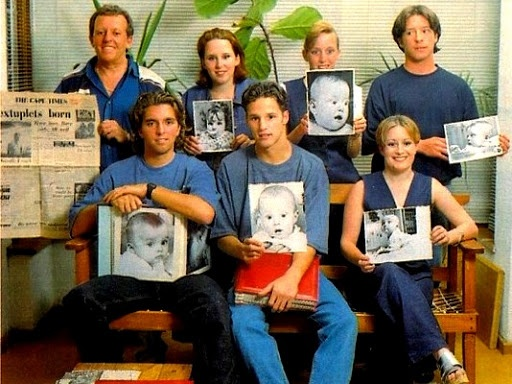 Rosenkowitz Sextuplets | Older multiples with their own ...