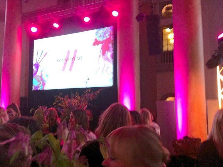 Luxsit Organic Care team at the Elle Beauty Awards (nominated for the Best Swedish Product).