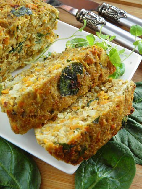 Sio-smutki: Pasztet warzywny z tuńczykiem i szpinakiem