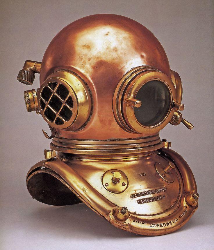 C.E. Heinke  Co. Ltd 6-bolt diving helmet, early 20th century (http://www.divingheritage.com/heinke.htm)