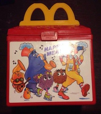 Vintage Fisher Price McDonalds Happy Meal 1989 Play Food RARE Fun with Food | eBay