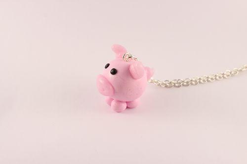 Collier Petit cochon