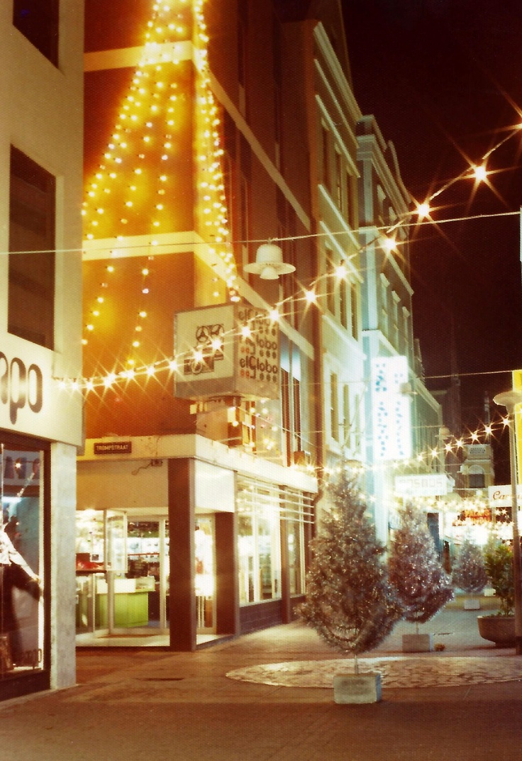 Punda shopping centre decorations (1978) Heerenstraat