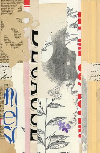 nowisthetime6 - Valerie Roybal -  Love the mix of #pattern and #collage pieces
