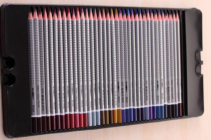 """""""24colors art grip Faber castell watercolor pencils set for promotion ,24 pcs watercolor pencil"""""""