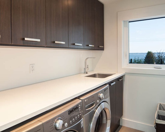 laundry cabinets and layout