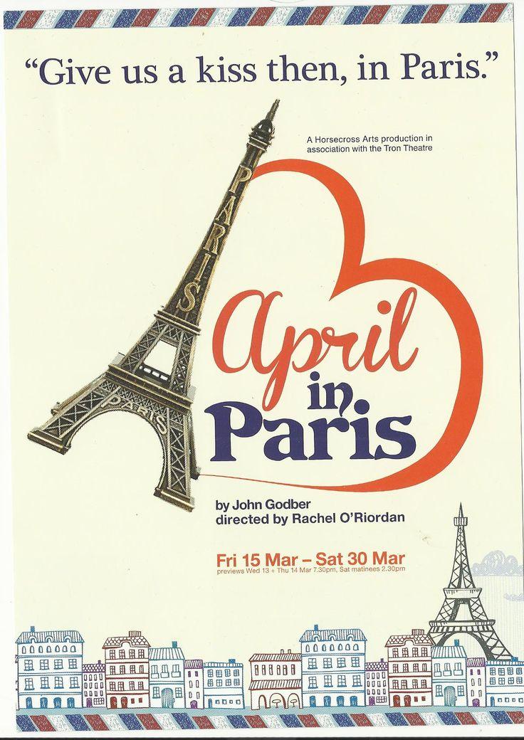 Production of April in Paris | Theatricalia